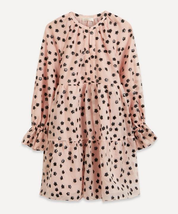 Stine Goya - Meadow Blush Ivana Organza Mini-Dress