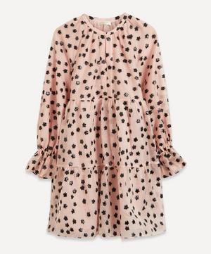 Meadow Blush Ivana Organza Mini-Dress