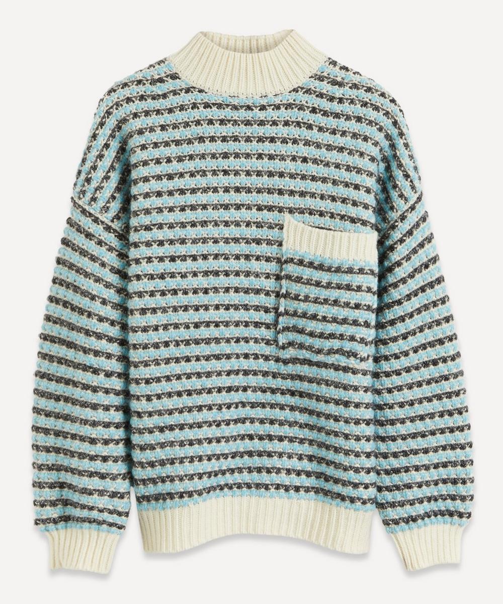 Stine Goya - Nalin High-Neck Wool-Blend Jumper