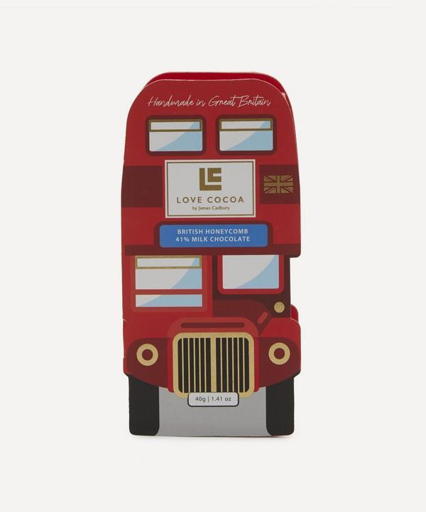 Love Cocoa - London Bus Honeycomb Milk Chocolate Box 40g