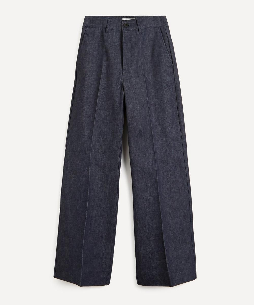 Ami - Straight-Fit High-Waist Jeans
