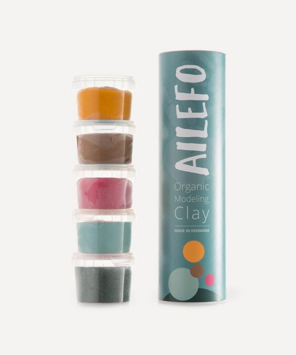 Ailefo - Small Organic Modelling Clay Tube - Forest Colours