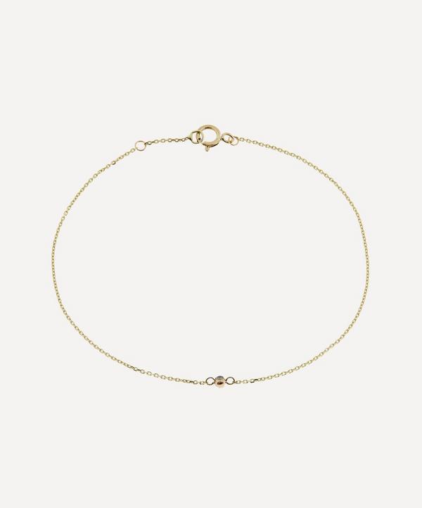AURUM + GREY - 9ct Gold Étoile Petite Diamond Bracelet