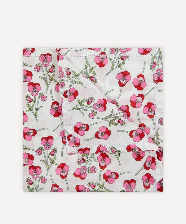 Liberty - Ros Small Cotton Handkerchief
