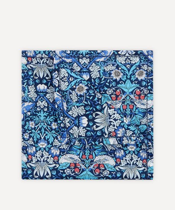Liberty - Strawberry Thief Small Cotton Handkerchief