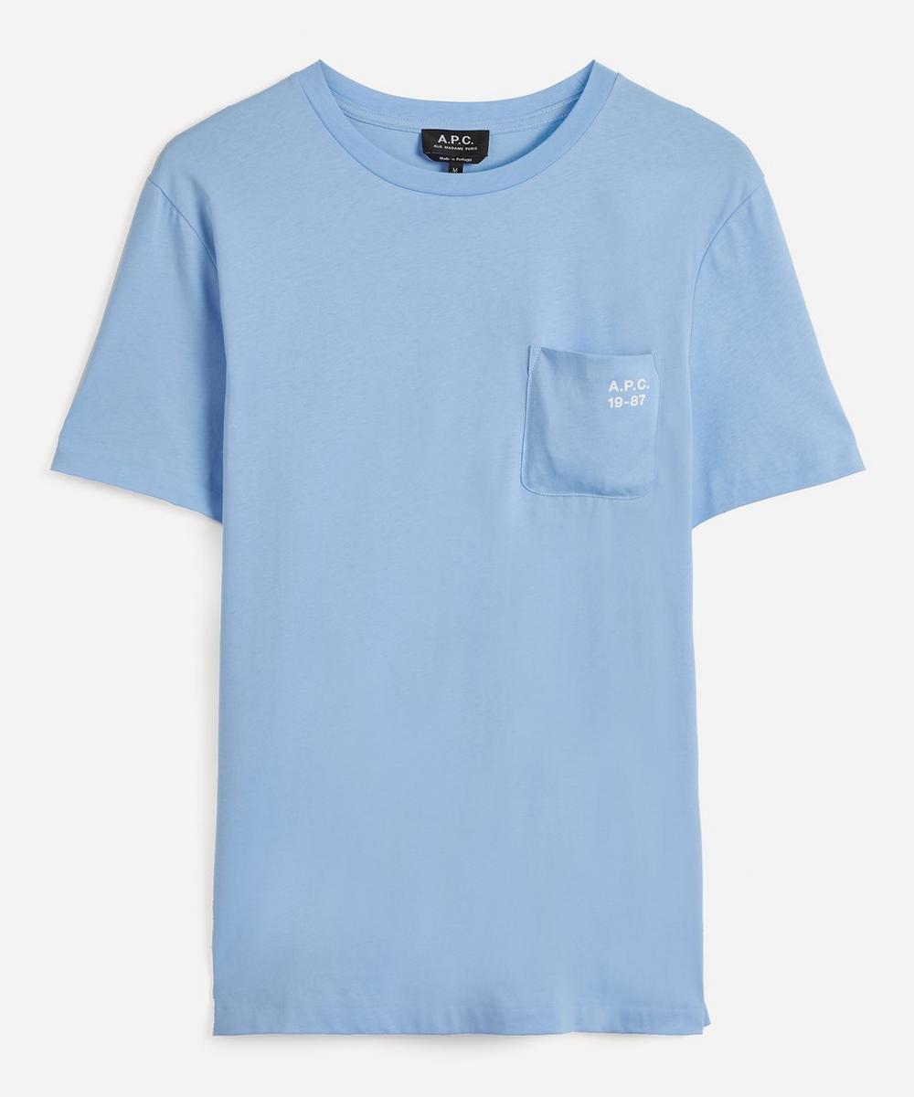 A.P.C. - Andrew Vintage Logo Oversized Cotton T-Shirt