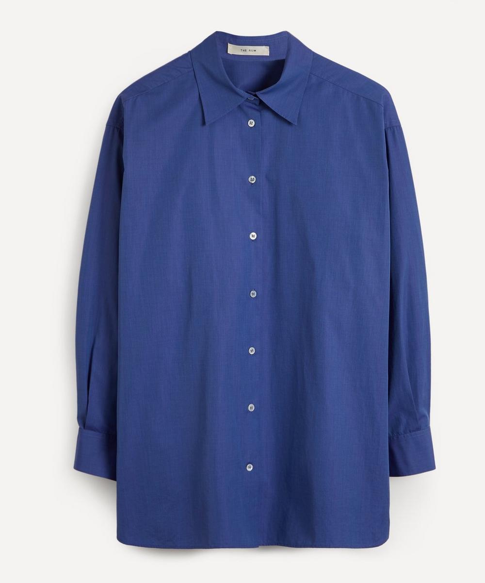 The Row - Gianluca Oversized Cotton Shirt