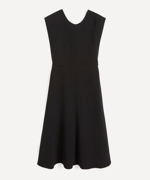 Delannoy V-Back Cady Midi-Dress