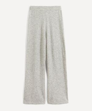 Cashmere-Blend Wide-Leg Trousers