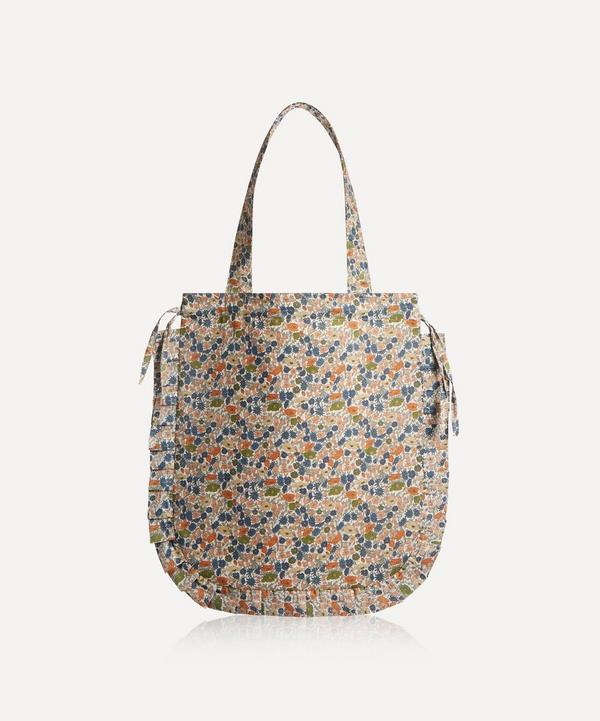 Maison M - Poppy Forest Frilled Cotton Tote Bag