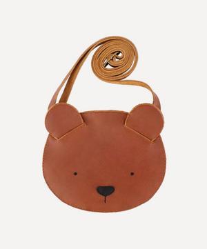 Britta Bear Leather Bag
