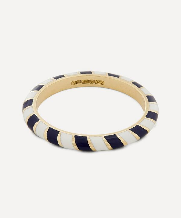 Alice Cicolini - 14ct Gold Memphis Slim Candy Band Ring