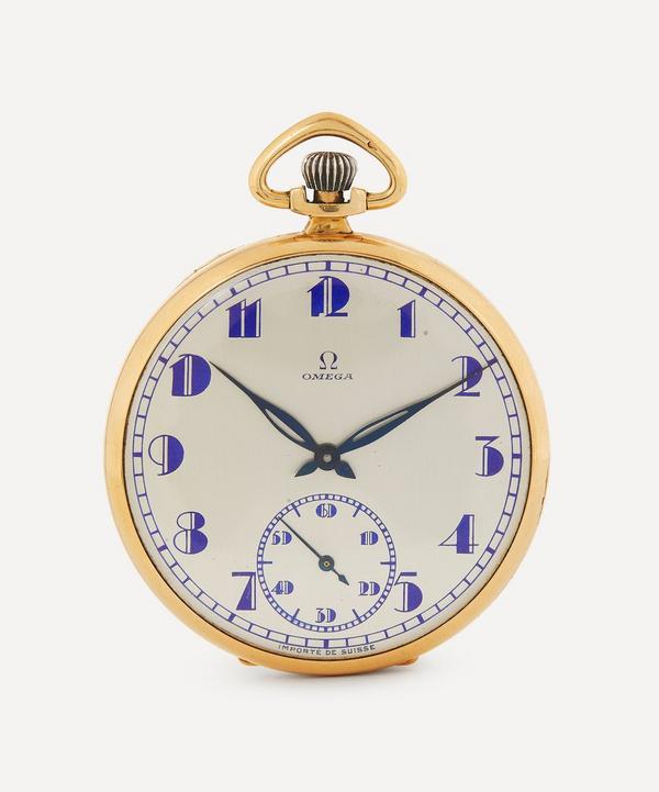 Designer Vintage - 1930s Omega 18ct Gold Pocket Watch