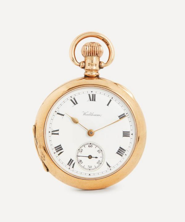 Designer Vintage - Edwardian Waltham 9ct Gold Fob Watch