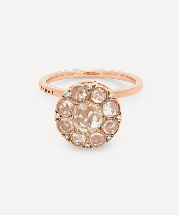 Selim Mouzannar - 18ct Rose Gold Beirut Diamond Ring