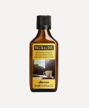 Pasta & Love Pre-Shaving & Beard Oil 50ml