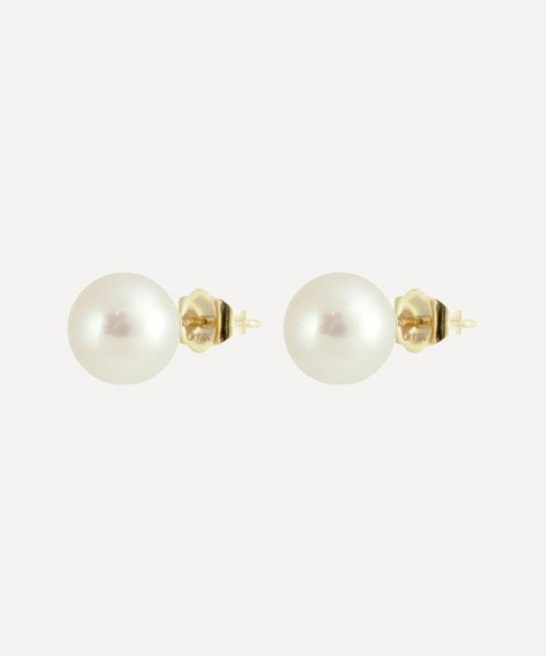 Kojis - Pearl Stud Earrings