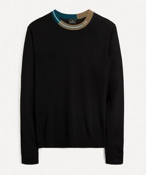 Coloured Collar Sweater