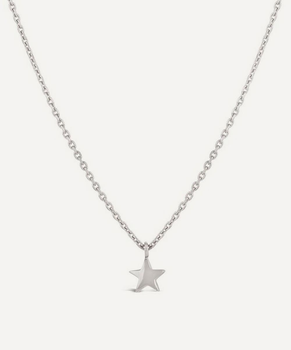 Dinny Hall - Sterling Silver Bijou Mini Star Pendant Necklace