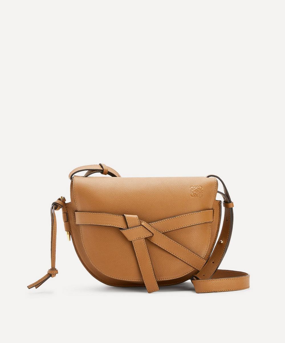 Loewe - Small Gate Leather Cross-Body Bag