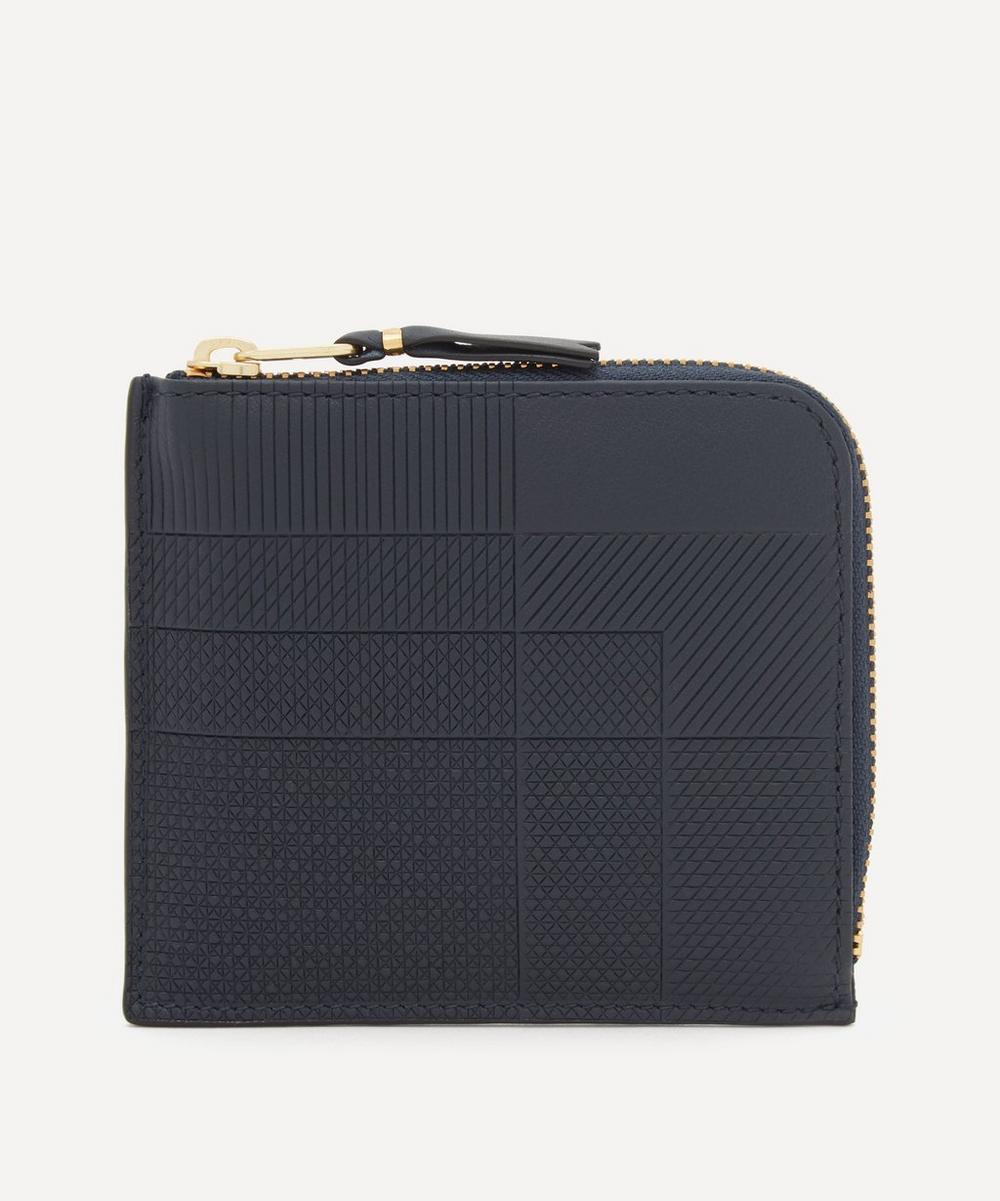 Comme Des Garçons - Intersection Leather Bifold Wallet