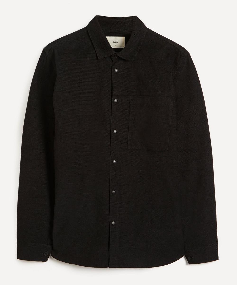 Folk - Clean Cuff One Pocket Shirt