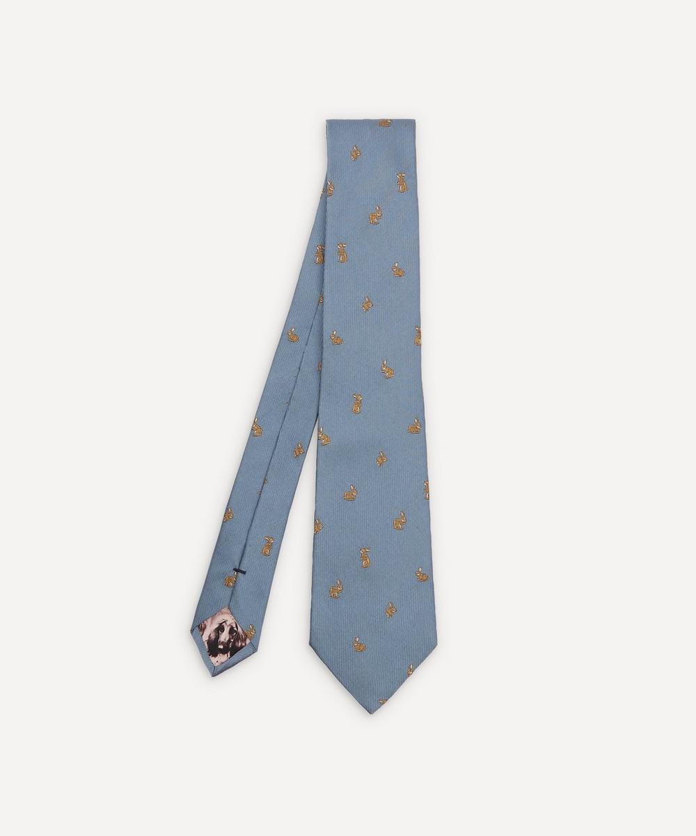 Paul Smith - Woven Silk Rabbit Tie