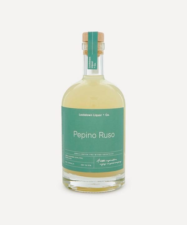 Lockdown Liquor & Co. - Pepino Ruso Pre-Mixed Cocktail 500ml