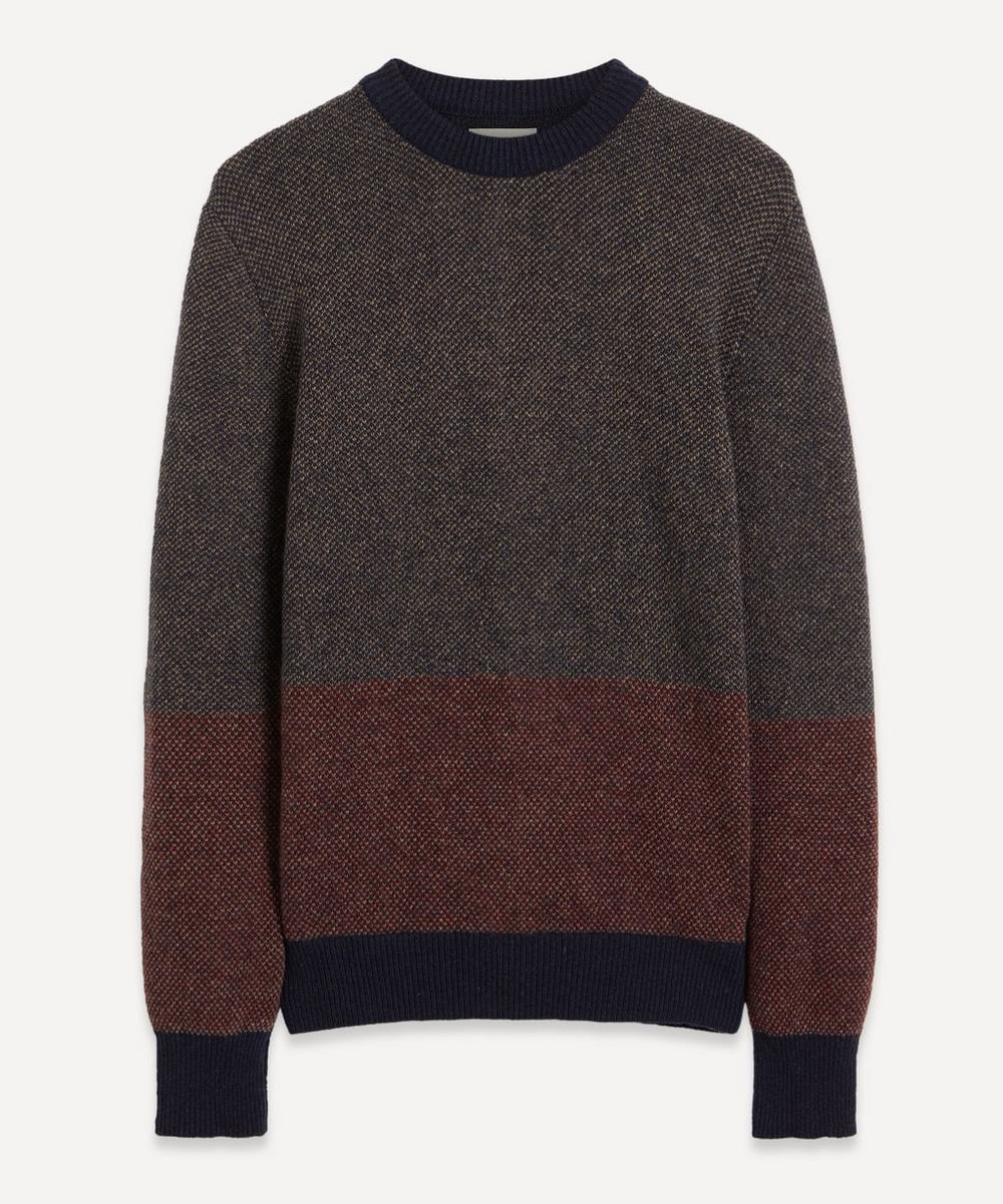 Oliver Spencer - Blenheim Colour-Block Knit Jumper