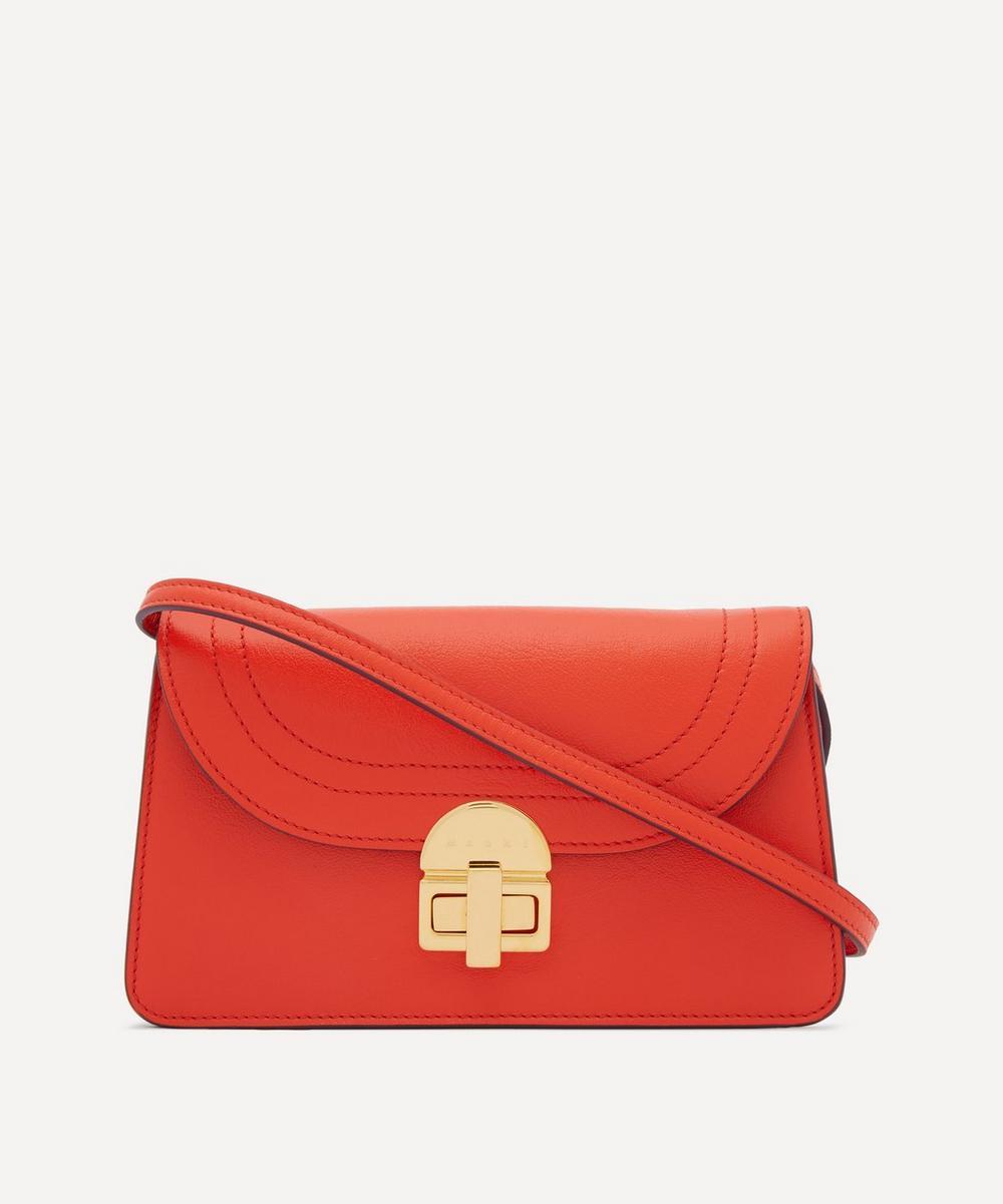Marni - Juliette Leather Envelope Cross-Body Bag