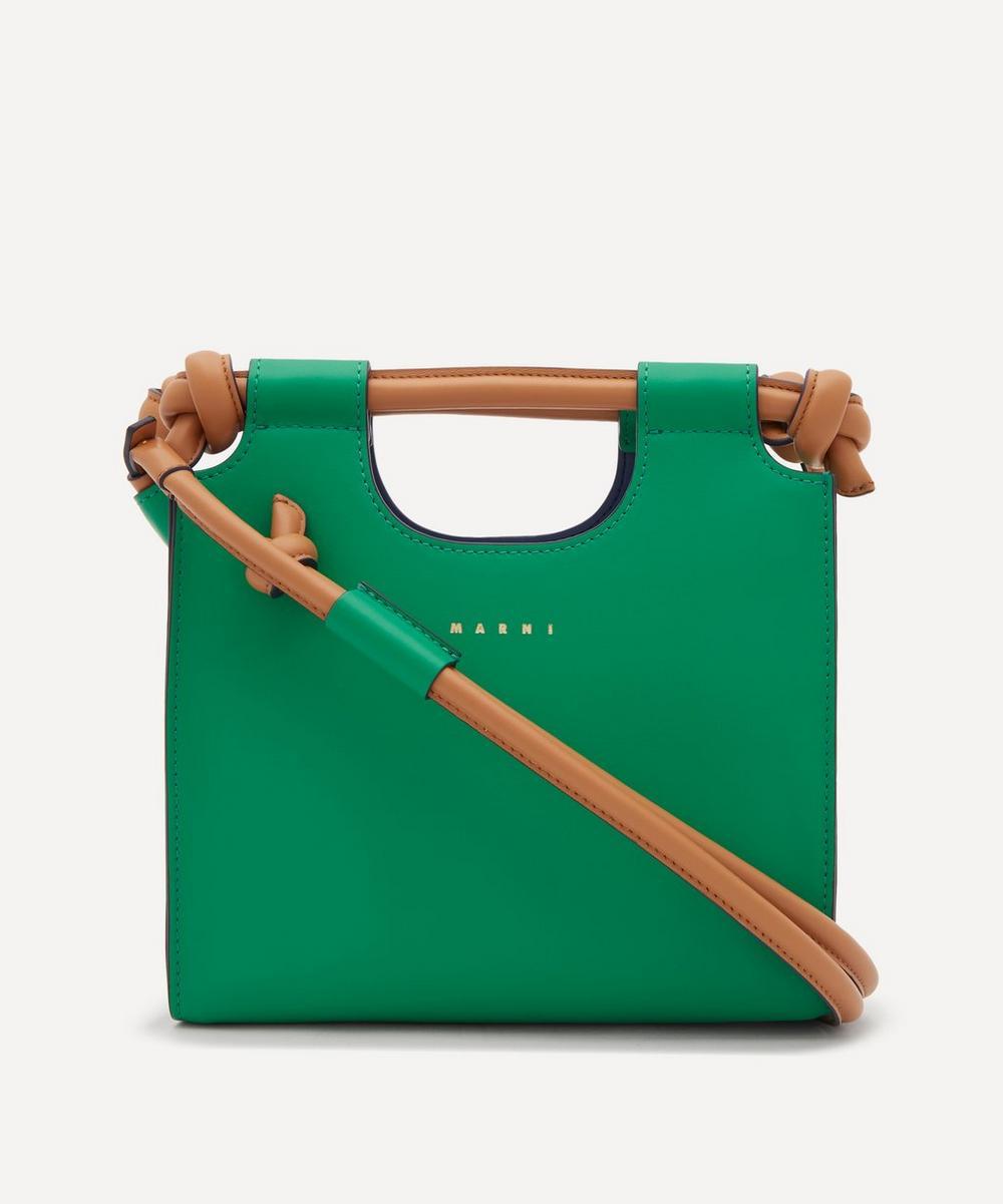 Marni - Marcel Knot Small Leather Handbag