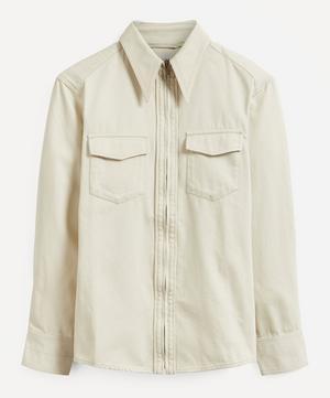 Denim Zipped Shirt