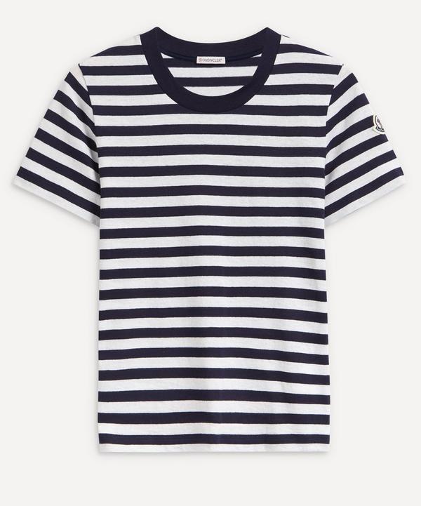 Moncler - Striped Cotton T-Shirt