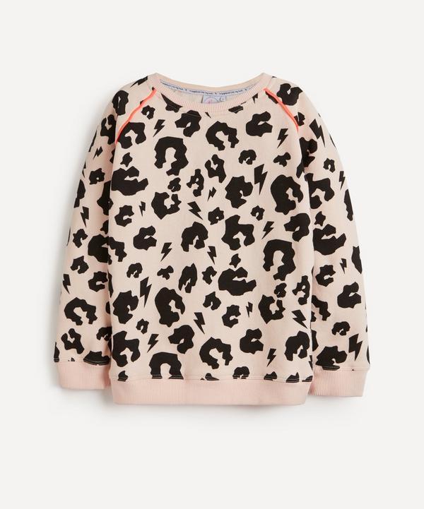 Scamp & Dude - Leopard Print Super Soft Sweatshirt 1-8 Years