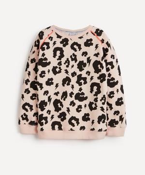 Leopard Print Super Soft Sweatshirt 1-8 Years