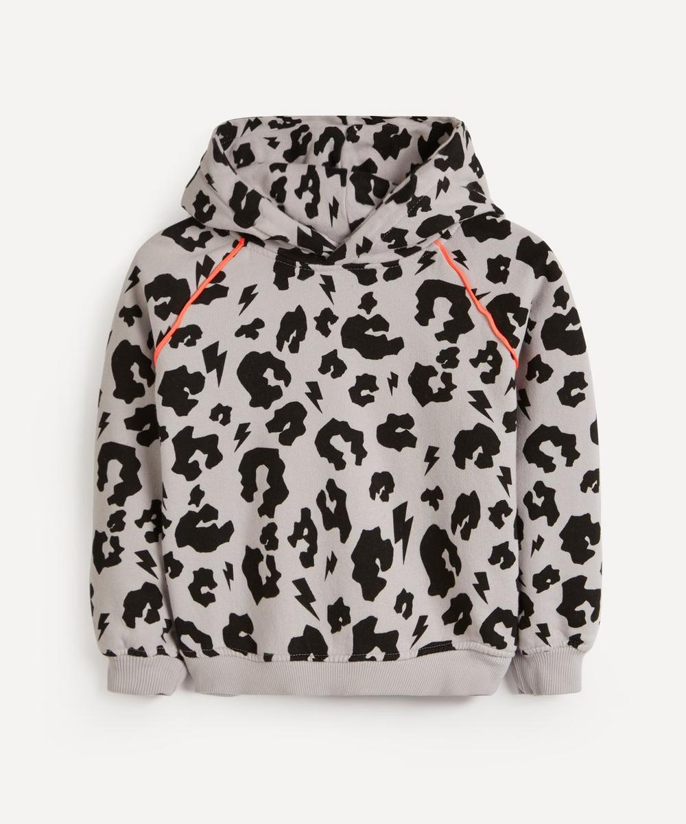 Scamp & Dude - Leopard and Lightning Bolt Hoodie 1-8 Years