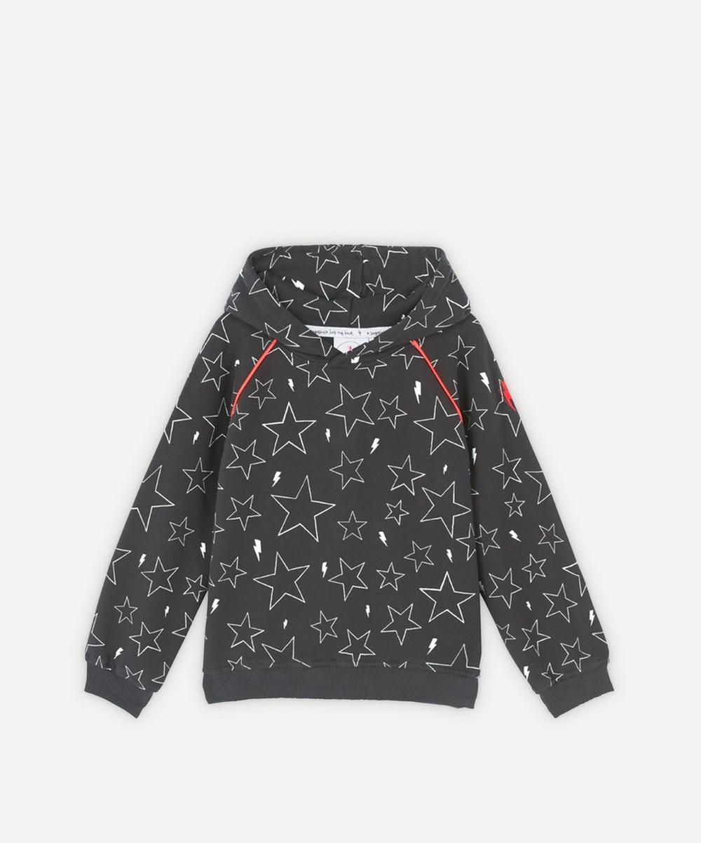 Scamp & Dude - Star and Lightning Bolt Hoodie 1-8 Years