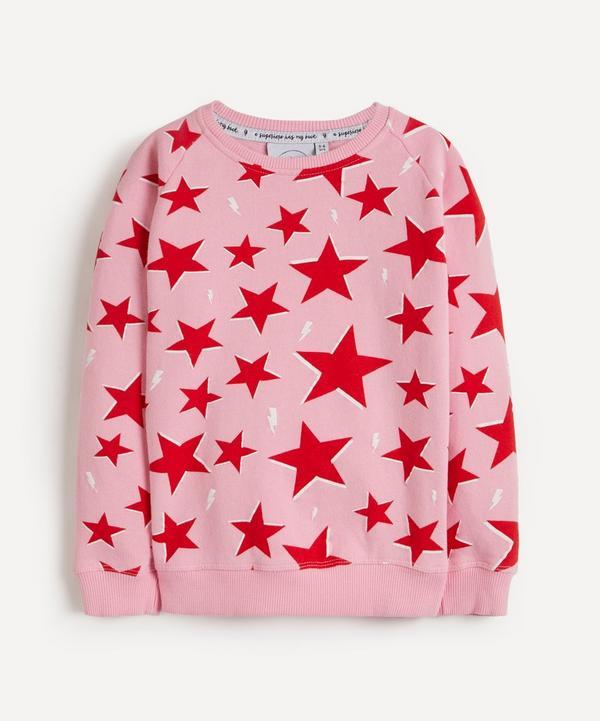 Scamp & Dude - Star and Lightning Print Super Soft Sweatshirt 1-8 Years