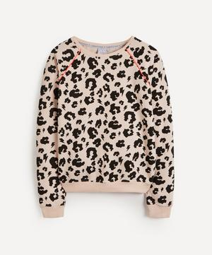 Leopard and Lightning Print Super Soft Sweatshirt