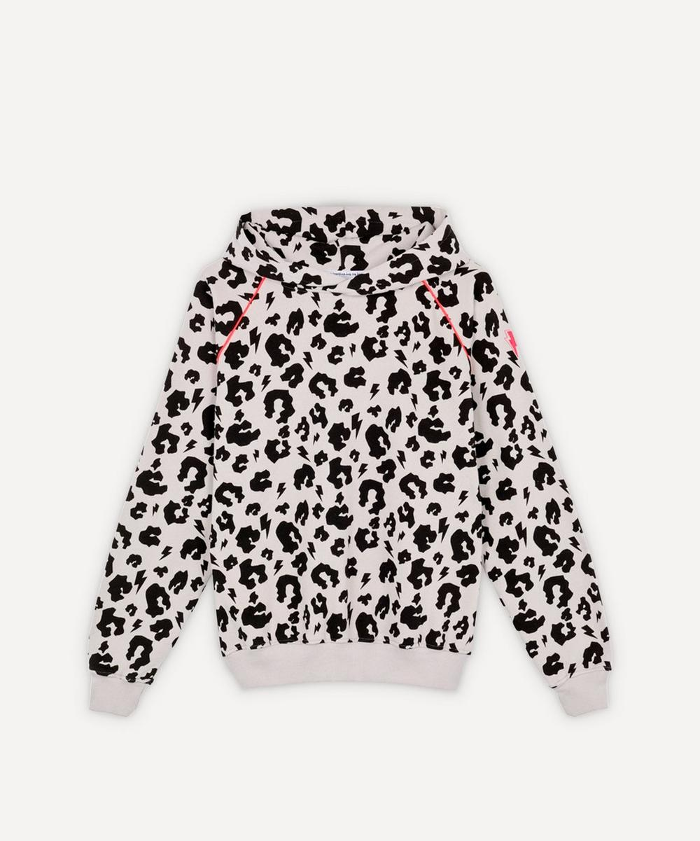 Scamp & Dude - Leopard and Lightning Bolt Hoodie