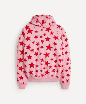 Star and Lightning Print Super Soft Hoodie