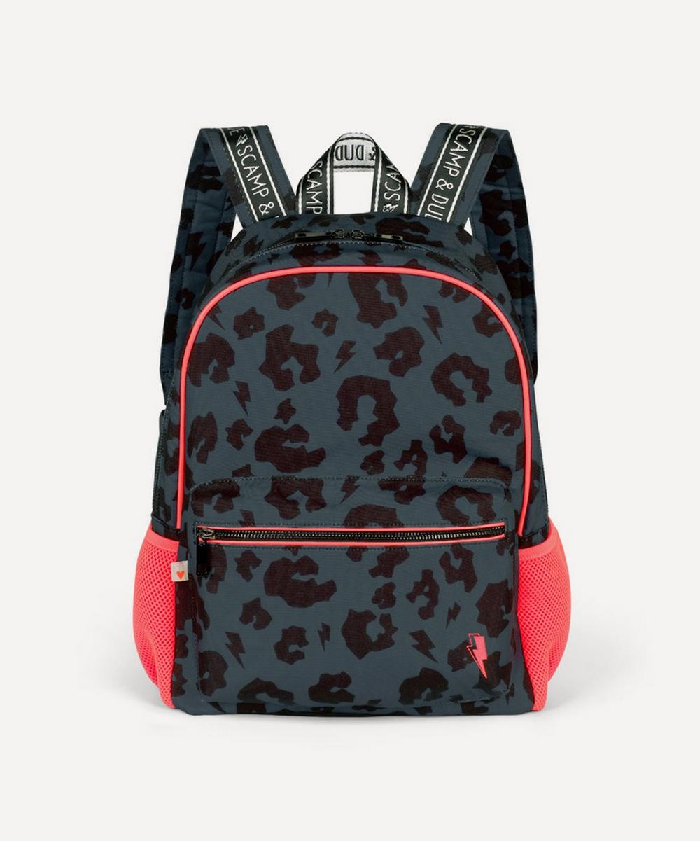 Scamp & Dude - Leopard and Lightning Bolt Supercharged Backpack