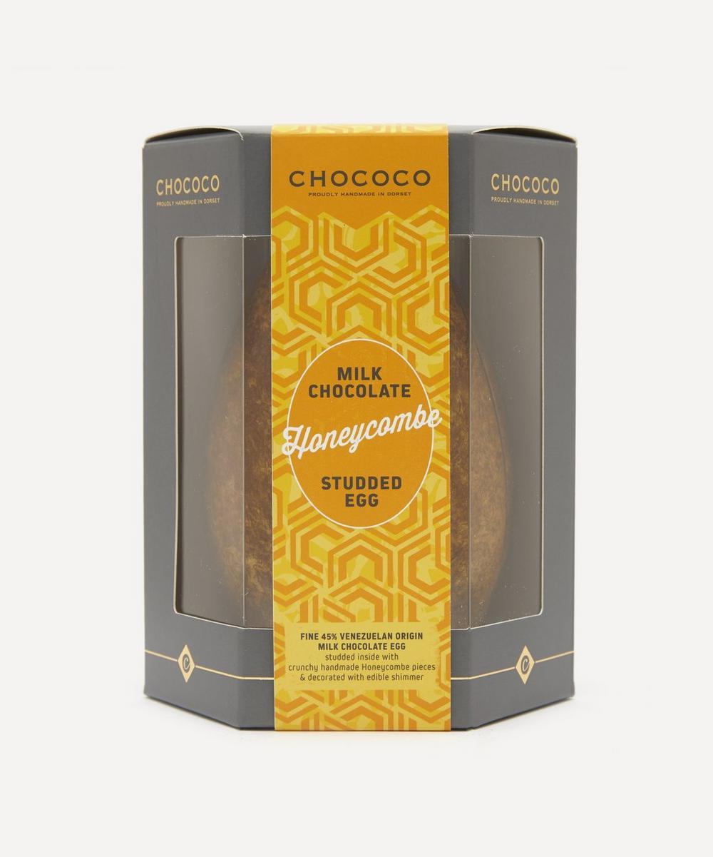 Chococo - Milk Chocolate Honeycomb Studded Egg 175g
