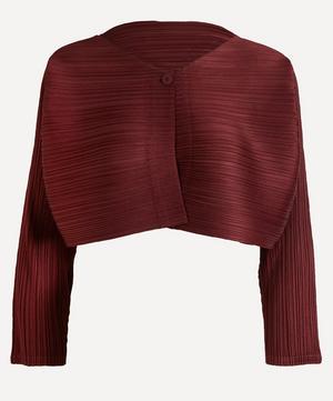 Pleated Bolero Jacket