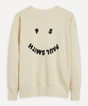 Smiley Face Logo Sweater