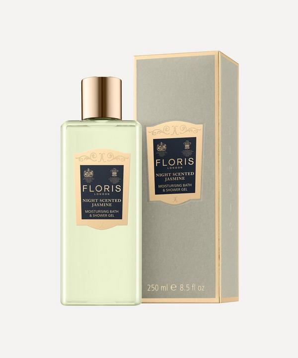 Floris London - Night Scented Jasmine Moisturising Bath & Shower Gel 250ml