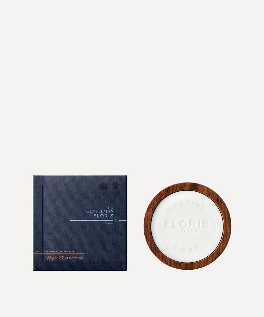 Floris London - The Gentleman Floris Elite Shaving Soap & Bowl 100g