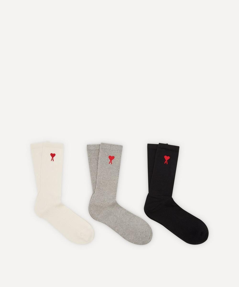 Ami - Ami de Cœur Socks Three Pack