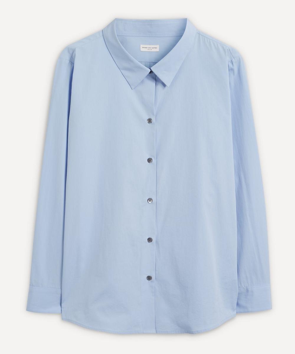 Dries Van Noten - Loose Cotton-Poplin Shirt
