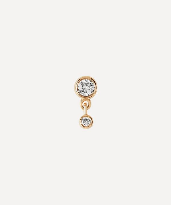 Maria Black - 14ct Gold Mini Me Diamond Single Stud Earring